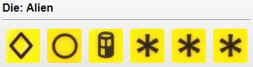Alien Technology (Yellow) - 1 Develop, 1 Settle, 1 Produce, 3 Wild